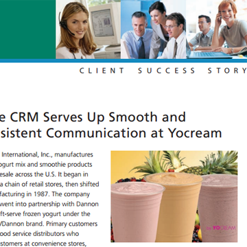 Yocream International, Inc.