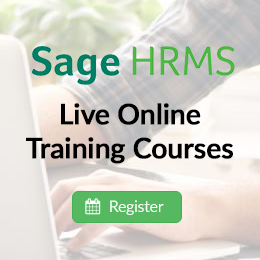 Sage HRMS Live Online Training Courses