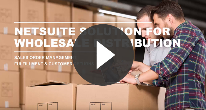 NetSuite for Wholesale Distribution Demo
