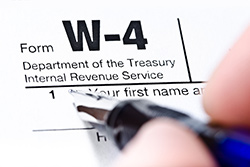Completing the New W-4 Form