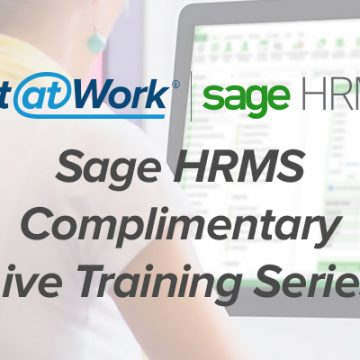 Web-Based Sage HRMS Training Courses