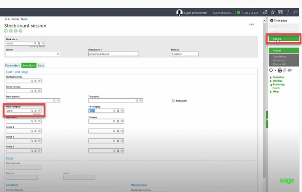How to Perform Inventory Multi-Counting in Sage X3