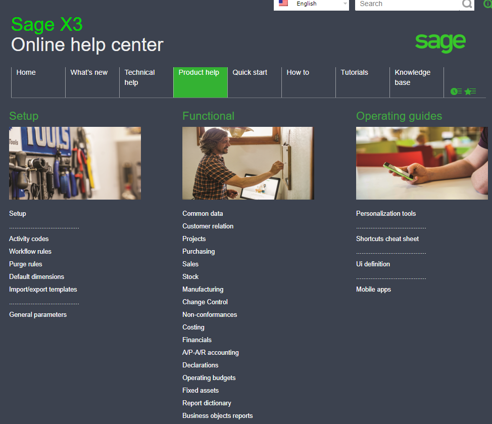 Sage x3 user guide - How to Access Sage X3 Online Documentation
