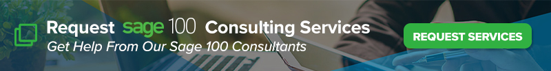 Sage 100 Consulting Quote